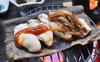 写真:牡蠣のたまり焼き(一例)